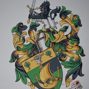 The Armorial Bearings of Nelson