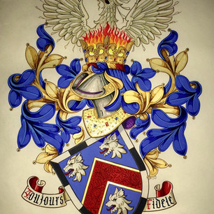 The Armorial Bearings of Robertson -Reed