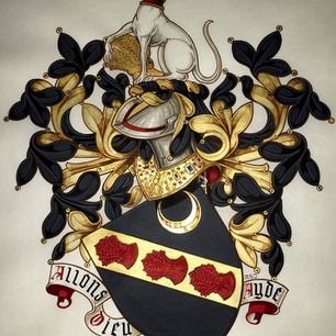 The Armorial Bearings of Reed of New Hampshire, USA