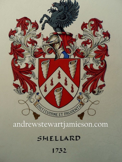 The Armorial Bearings of Shellard