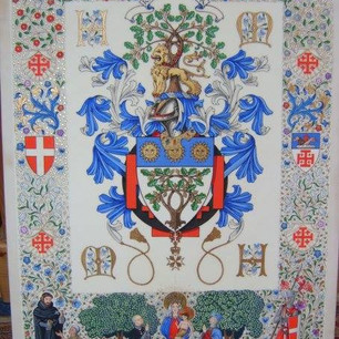 The Armorial Bearings of Robles of Jacksonville Florida