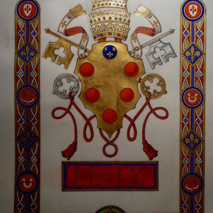 The Armorial Bearings of His Holiness Pope Leo X