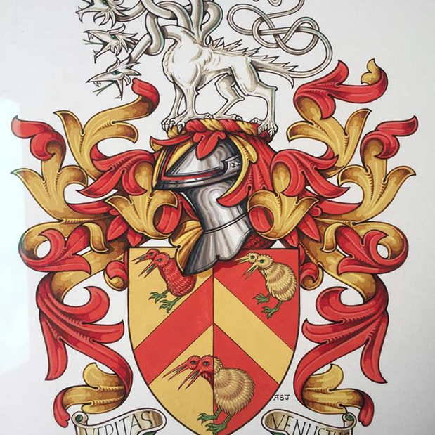 The Armorial Bearings of Morgan