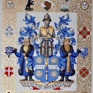 The Armorial Bearings of Nicholson of New York