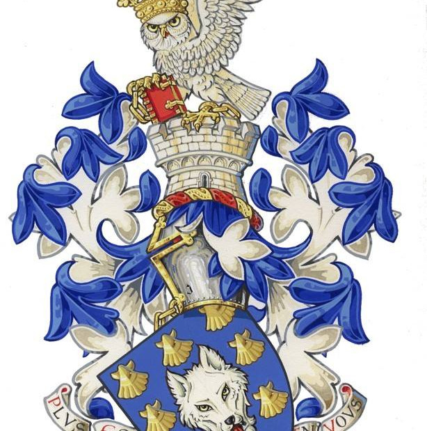 The English Armorial Bearings of Andrew Stewart Jamieson, as recorded in HM College of Arms.