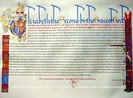 Royal Letters patent
