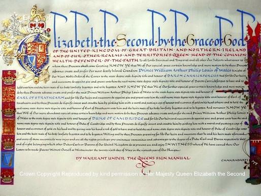 Royal Letters patent