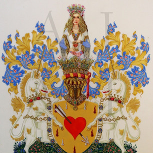 The Armorial Bearings of the Captive Heart