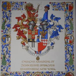 Grand Armorial of the Arms of Sprague