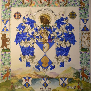The Armorial Bearings of the Lord and Baron of Kintyre, Lochmaben and Hallyards