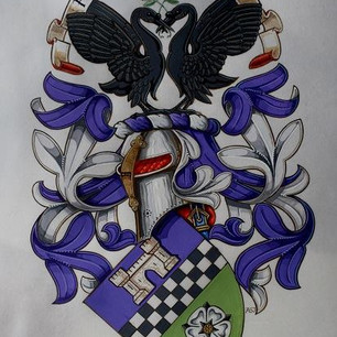 The Armorial Bearings of Lindley-Highfield of Ballumbie Castle
