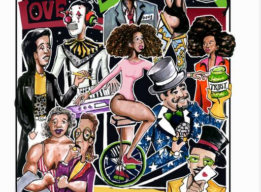 "New Generation of Afro Futuristic Comics.  Titled ""Trust Me Love"""