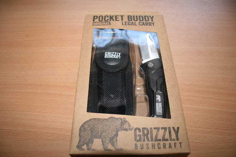 Grizzly Pocket Buddy Original with Sheath