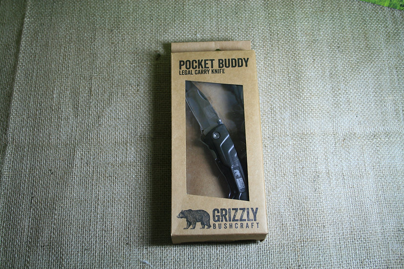 Pocket Buddy Legal Carry Knife