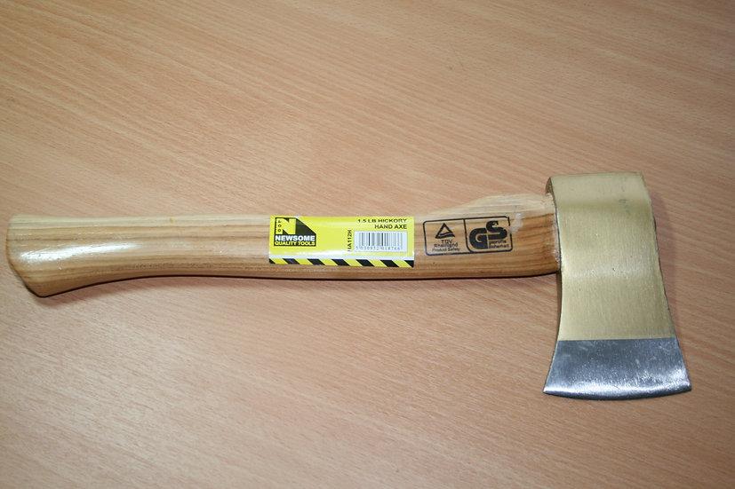 Wooden Handled 1.5lb Axe