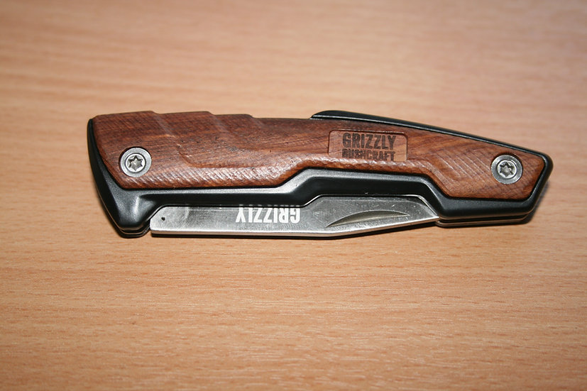 Grizzly Pocket Buddy Wood