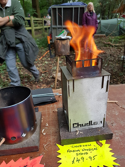 Chudlow Woodgas Stove