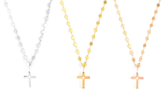 Rome Cross Necklace