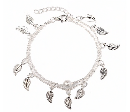 Canary Islands Feather Anklet