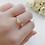 Thumbnail: Prague Double Diamond Ring