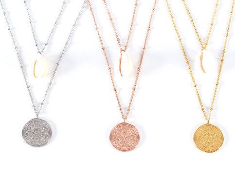 Santorin Summer & Vintage Necklace
