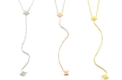 Talinn Double Star Necklace