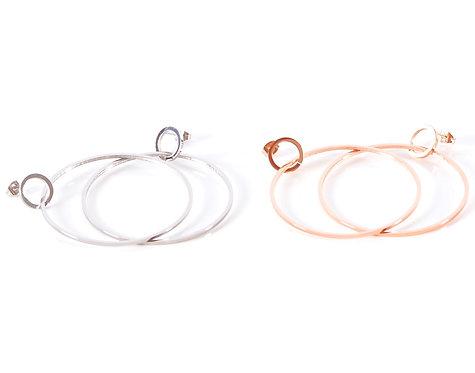 Rhodos Circle Earring