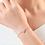 Thumbnail: Chicago Crystal Heart Bracelet
