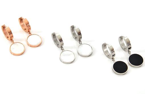 El Salvador Seashell Earrings