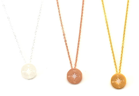 Copenhagen Compass Necklace