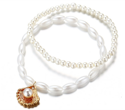 The Golden Pearl Anklet