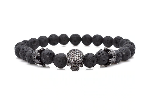 King Skull Bracelet