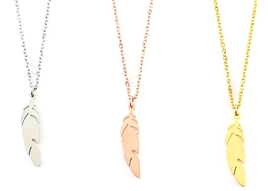 Manchester Feather of Freedom Necklace