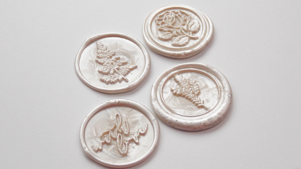 Ivory Wax Seals