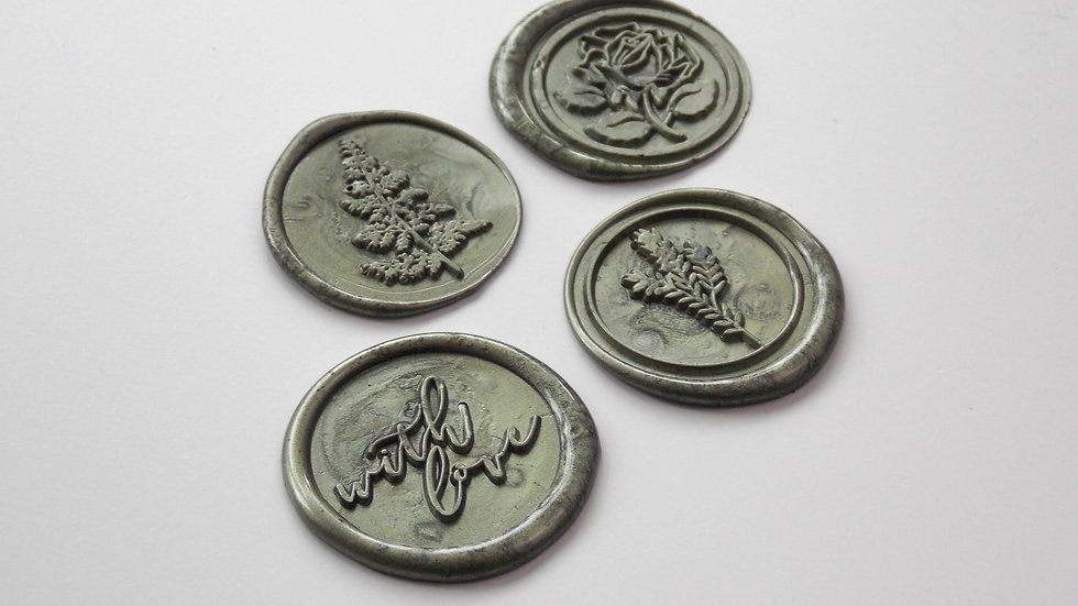 Olive Green Wax Seals