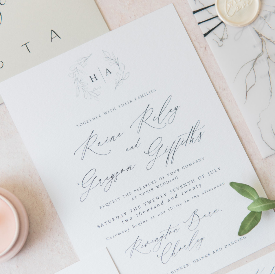 SEMI CUSTOM INVITATION COLLECTION