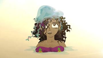 Beach Girl Jellyfish