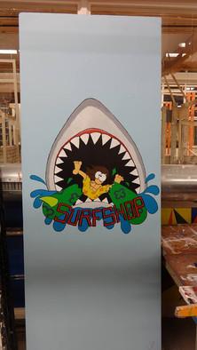 Cartoon Surfshop