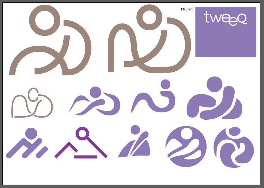 Tweeq logo ontwerp