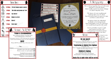 Multi-Page Invitation