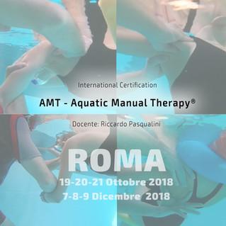 Nuovo Corso AQUATIC MANUAL THERAPY attivato a Roma