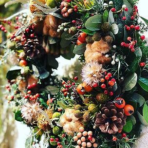 #クリスマスリース #クリスマスリース手作り #クリスマスリースレッスン #at
