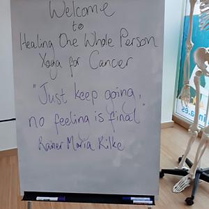 Yoga for Cancer Training