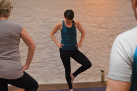 Yoga class with Yoga by Nature Weston-super-Mare