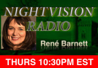 "Paul interviewed on ""NightVision Radio"" about Titanic reincarnation--and maybe, a polterge"