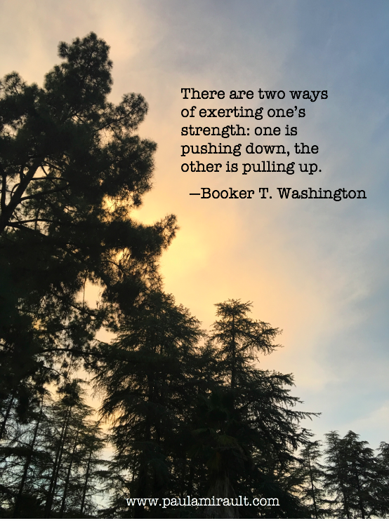 Booker T. Washington Quote