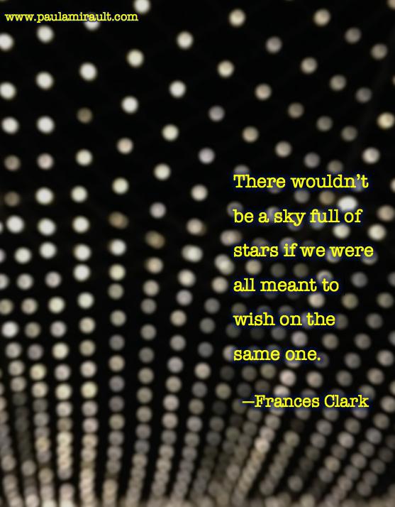 Frances Clark Quote