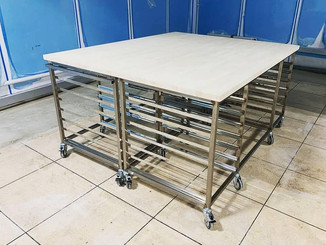 Stainless Steel Bakers tables