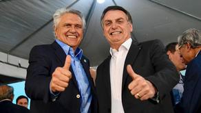 Após 5 meses do rompimento, Ronaldo Caiado faz série de elogios a Bolsonaro