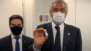 Caiado e Doria apostam em Vacina do instituto Butantan contra a Covid-19
